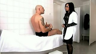 Cock-Hungry Goth Slut Takes it Up the Asshole and Cunt.