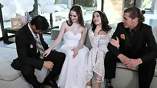 Teen Brides Have Orgy Before Wedding