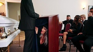Dirty granny Sally D'angelo enjoys having sex with a younger man