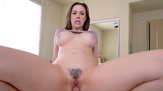 Amateur homemade video of busty MILF Chanel Preston getting fucked