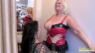 Mature Lesbians Lacey Starr and Jam Summers Picking Toys For Next Border Night