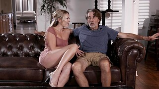 Older man with a large dick fucks rapturous cunt of Adira Fascination