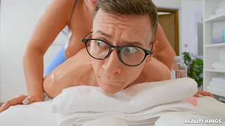 Everlasting vaginal intercourse with a younger hunk