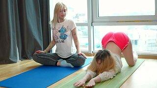 Iris Nuzzle Kiss and Kamilla D enjoying in 69 slant - HD